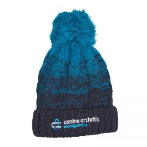 CAM Luxury Cable Knit Bobble Hat