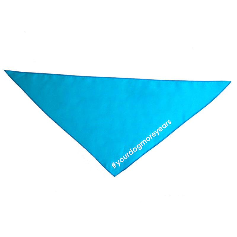 #yourdogmoreyears bandana