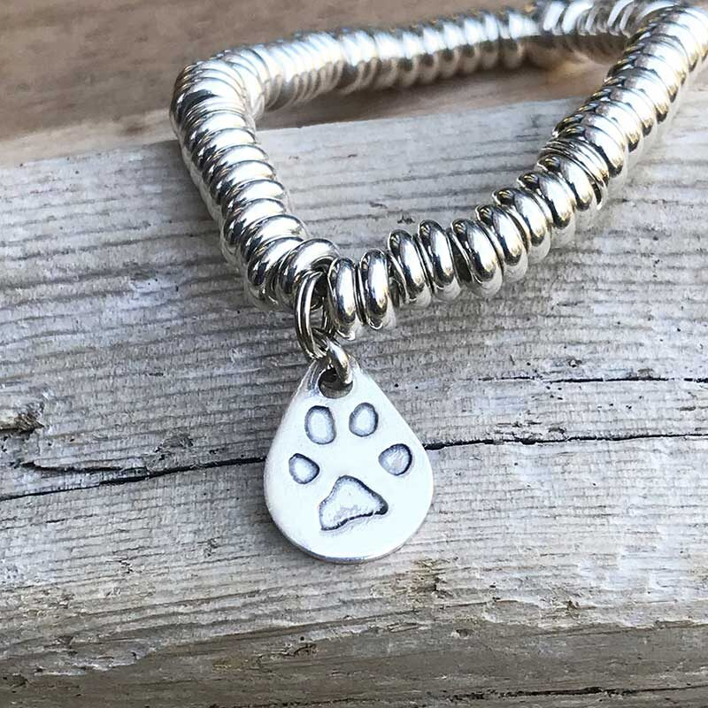 Teardrop Charm Bracelet